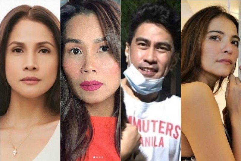 Celebrities sama-samang dinepensahan 'community pantries' sa red-tagging