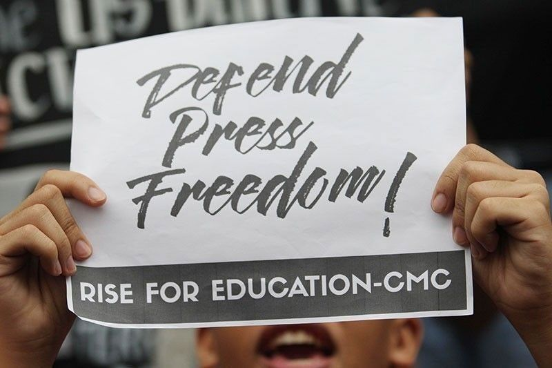 Philippines drops further in World Press Freedom Index
