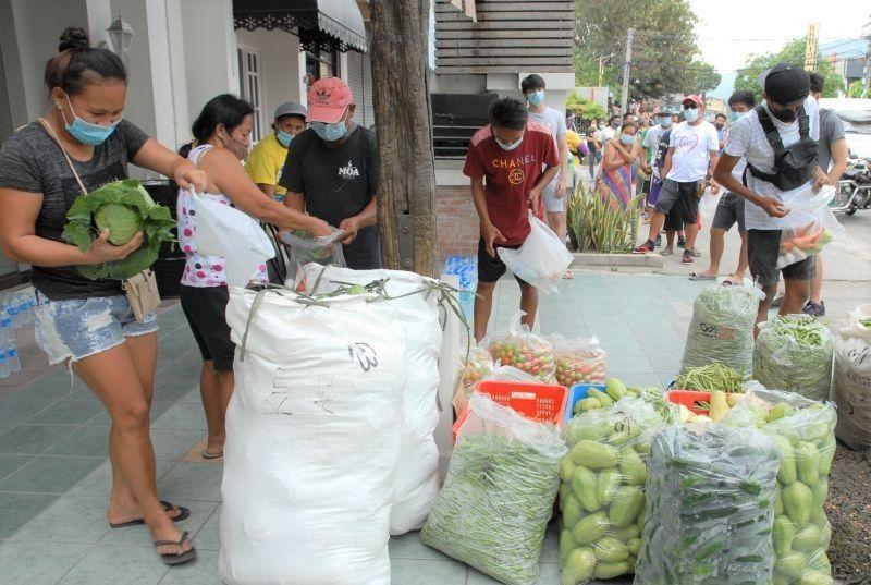 DA nagdala na rin ng mga gulay sa community pantries sa Metro Manila
