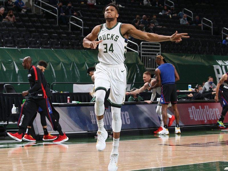 Antetokounmpo leads Bucks past Sixers; Davis looks rusty in Lakers return
