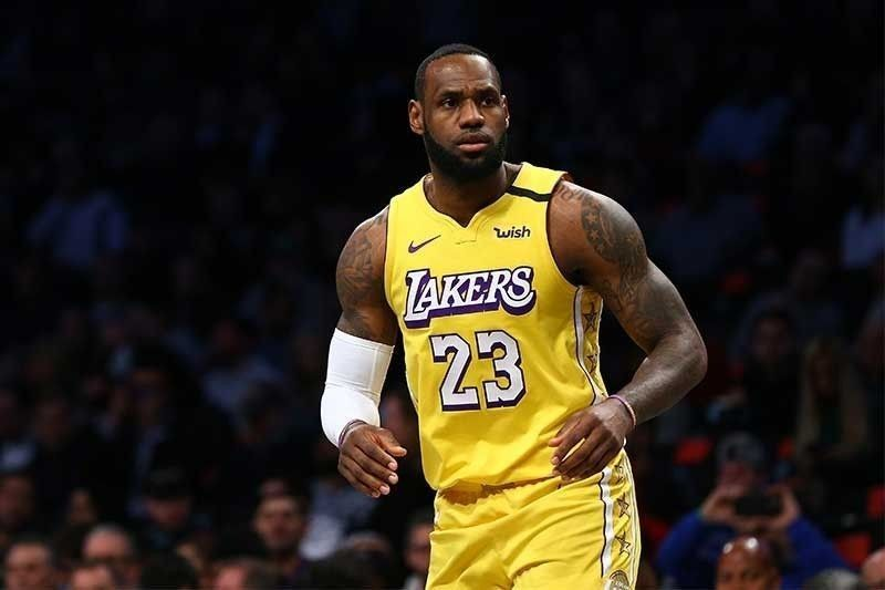 Lakers' James wants accountability; Trump vents anger at NBA star