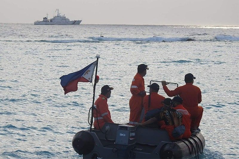 Philippine coast guard holds drills in West Philippine Sea
