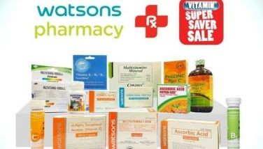 Get as much as 50% off on vitamins from Watsons sale from April 30 to May 2