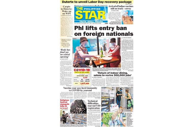 The STAR Cover (May 1, 2021)