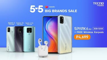You won't want to miss these unbeatable TECNO Mobile 5-5 deals on Lazada and Shopee