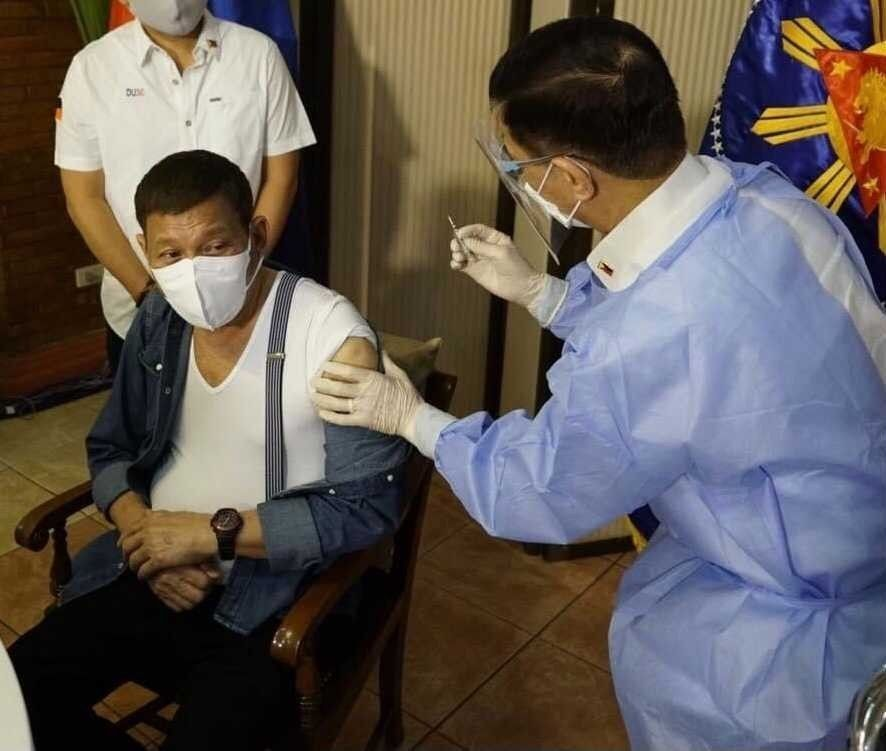 FDA: Sinopharm vaccine given to Duterte covered by special permit