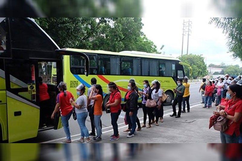 Mga bus nibalik na sa orihinal nga rota