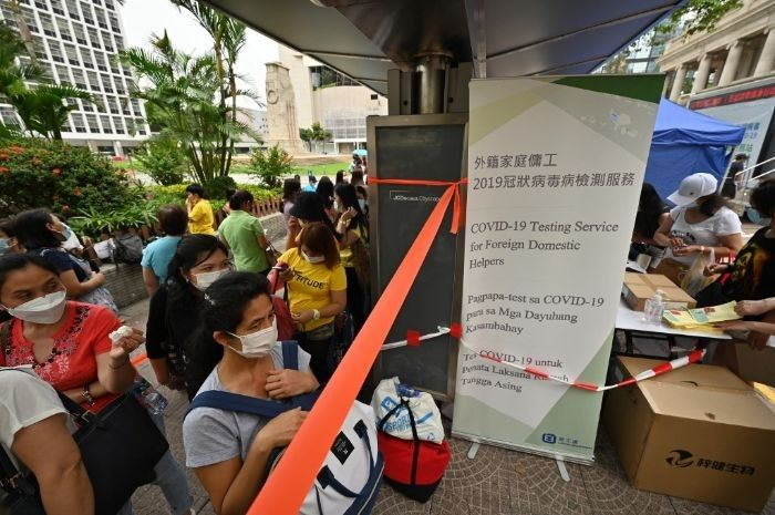 Hong Kong scraps mandatory vaccines for foreign domestic workers