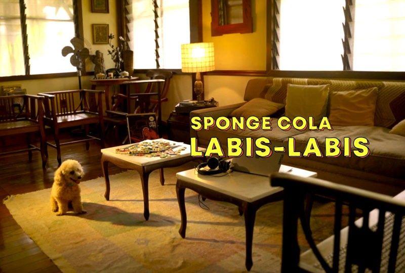Adorable puppies star in Spongecola's new 'Labis-labis' music video