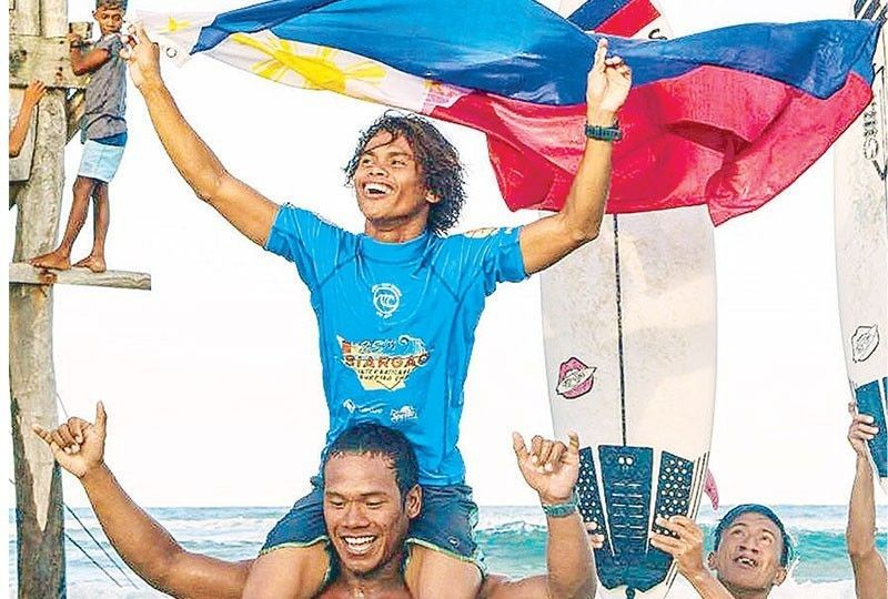Surfer Tokong also looking to catch Tokyo Olympic bus