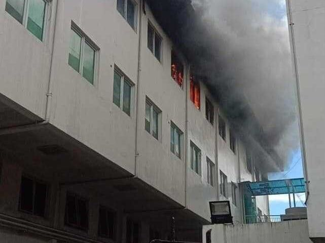 No injuries, damaged equipment seen from Pasig hospital fire