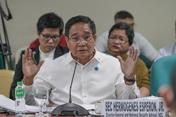Esperon says Anti-Terrorism Council designated terrorists out on May 14 dailies