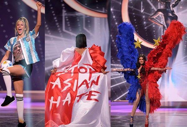 In photos: Miss Universe 2020 National Costumes rich in ...