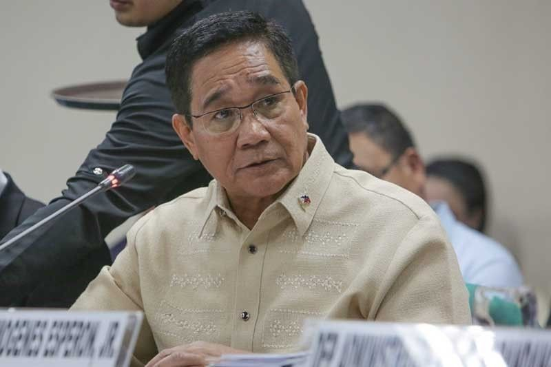 Esperon insists no further evidence needed for designation of Sison, 18 others