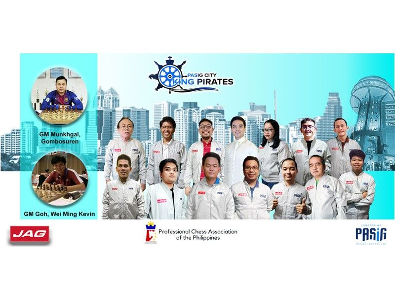 Pasig King Pirates go for 4-Grandmaster attack in Wesley So Cup