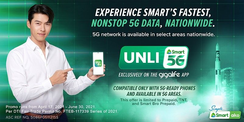 Smart expands Unli 5G availability to all 5G-covered sites nationwide
