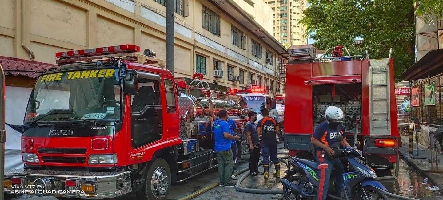 No casualties, injuries reported from fire in Philippine General Hospital � spokesperson