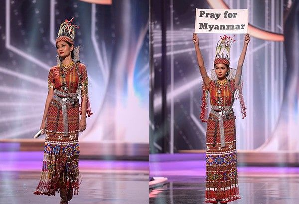 Miss Myanmar wins Miss Universe 2020 National Costume