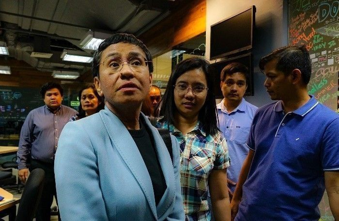 No statement from Palace yet on journalist Ressa, first Filipino to receive Nobel Peace Prize