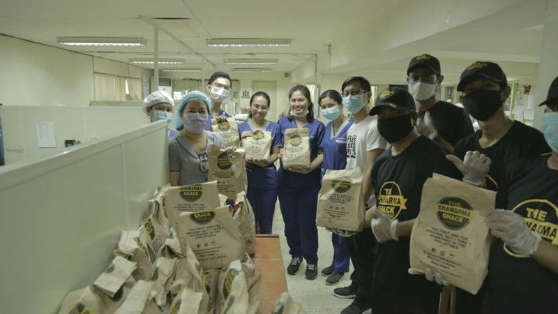 Shawarma Shack recognized for multiple relief efforts to alleviate Filipinos' lives in 2020
