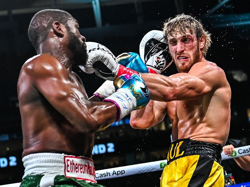 Mayweather-Logan Paul boxing exhibition goes the distance