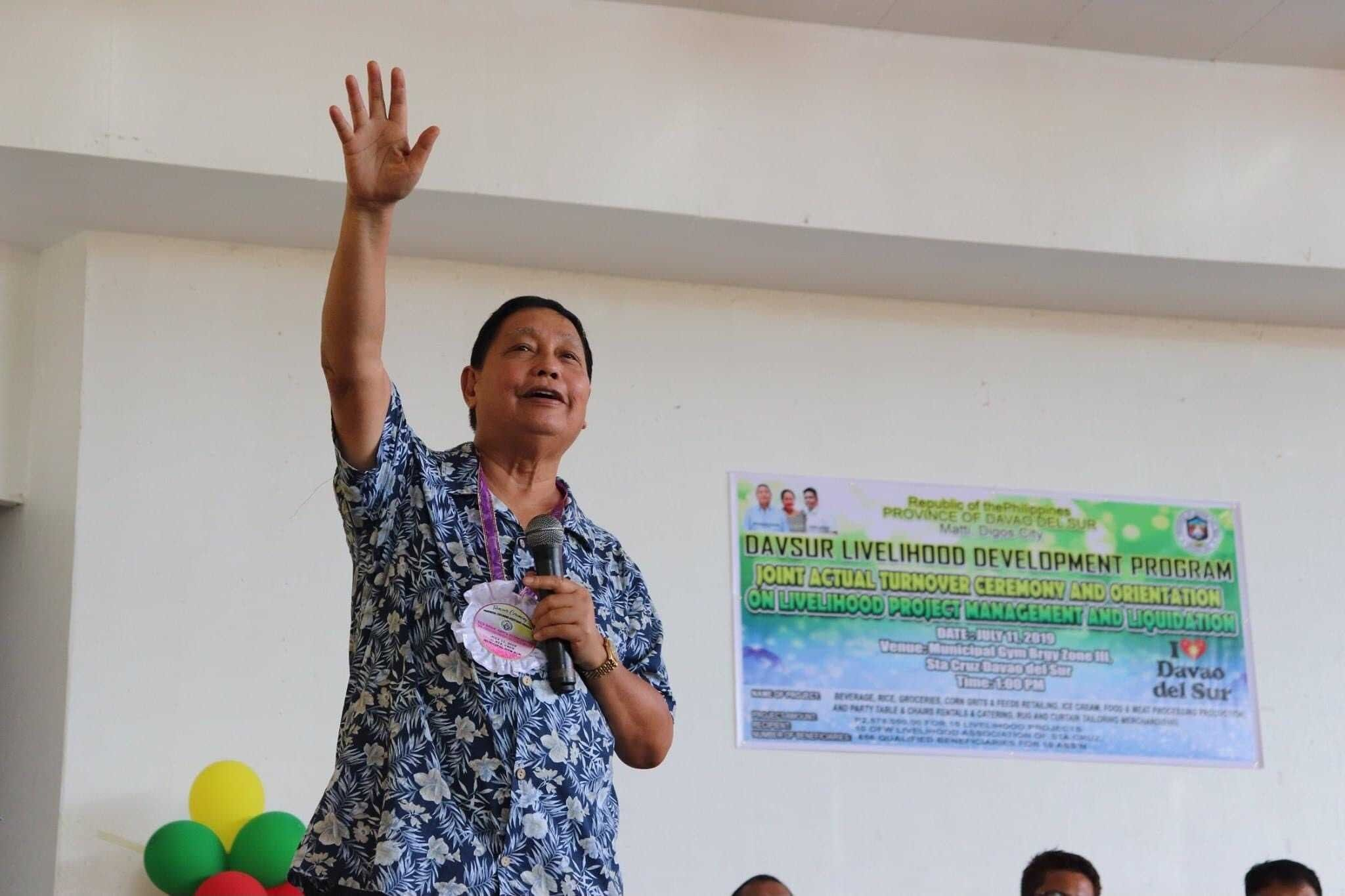 Davao del Sur governor dies from COVID-19 complications