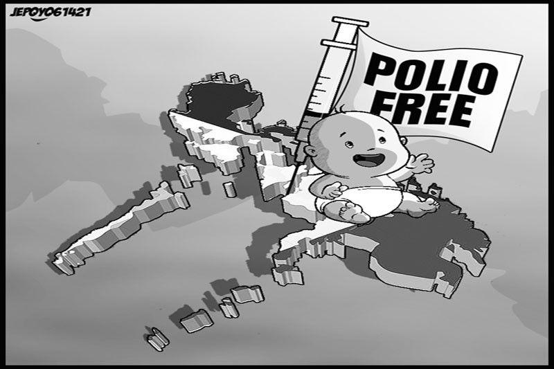 EDITORYAL - Natuldukan ang polio habang may COVID