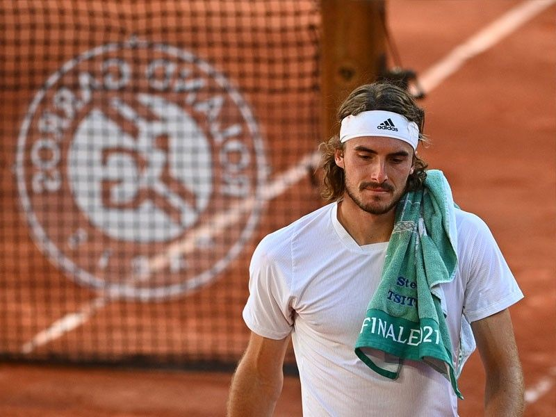 'No regrets, no tears' for French Open runner-up Tsitsipas