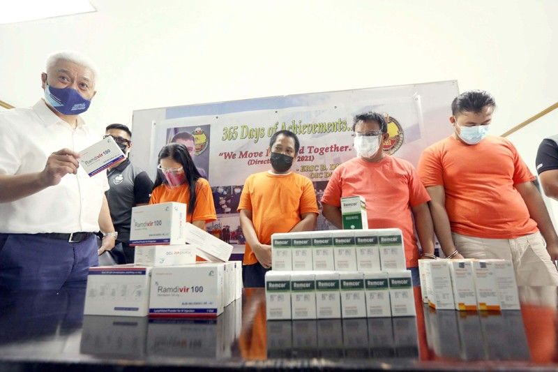 4 caught with P2 million COVID-19 drug