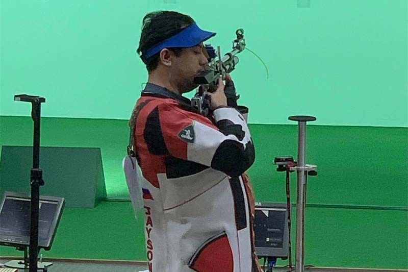 Rifle shooter is latest Tokyo Olympic-bound Filipino