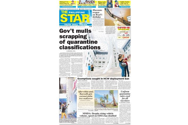 The STAR Cover (June 20, 2021)
