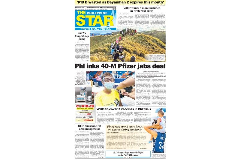 The STAR Cover (June 21, 2021)