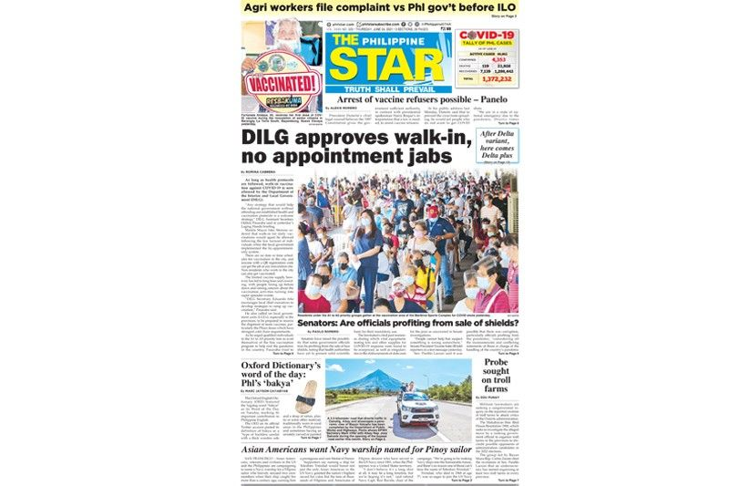 The STAR Cover (June 24, 2021)