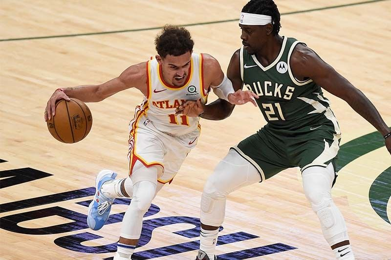 Young explodes for 48 points as Hawks draw first blood vs Bucks