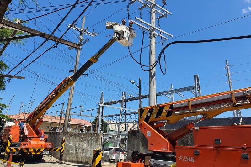 Meralco improves substation in Cabuyao, Laguna