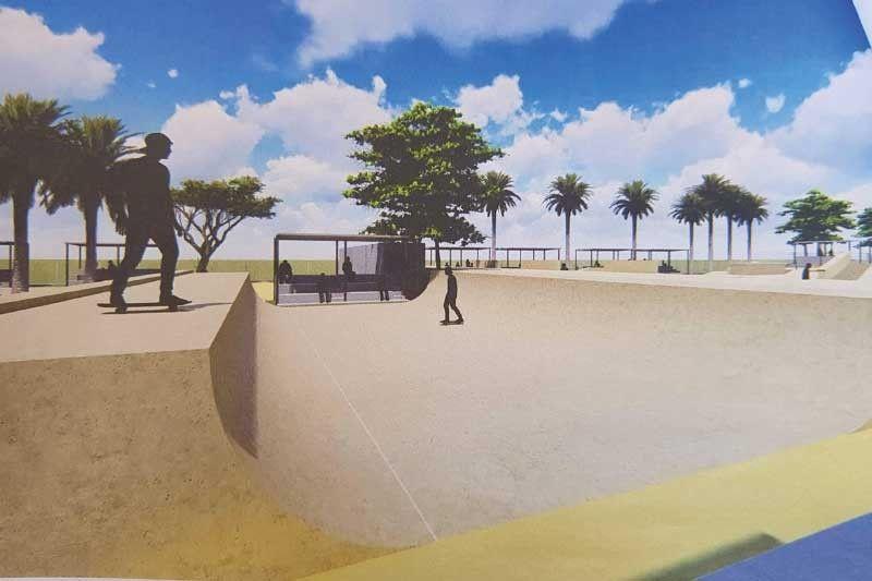 Garganera proposes skate park at SRP