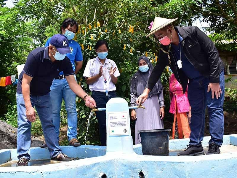 Maguindanao village gets easy access to clean water