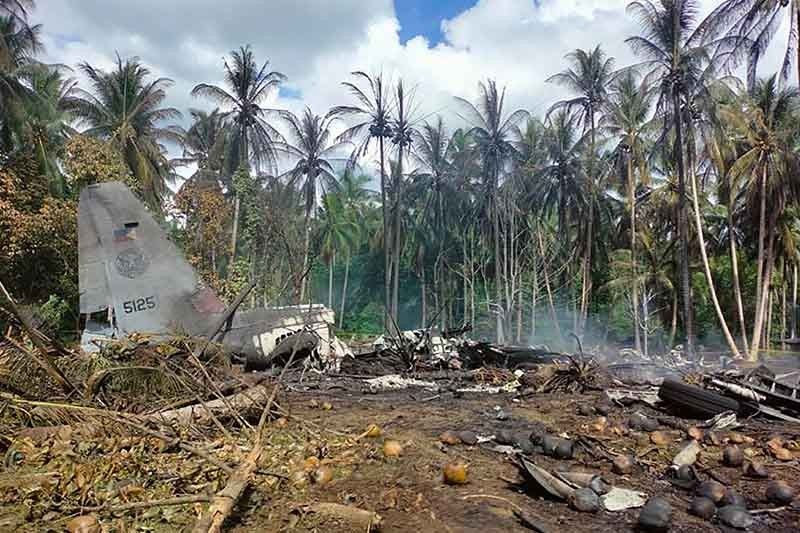 Soldiers in plane crash meant to reinforce Sulu troops vs Abu Sayyaf