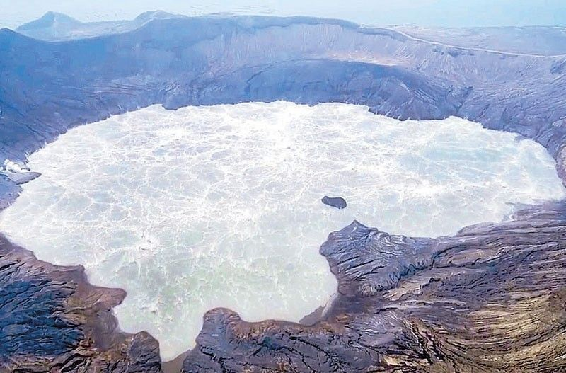 Phivolcs records continued phreatomagmatic bursts in Taal
