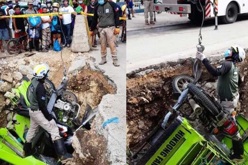 Chan demands DPWH to hasten drainage project