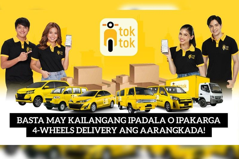 Toktok launches 4-wheels delivery service