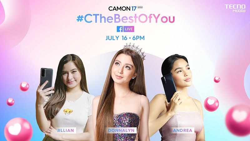Celebs to share makeup, OOTD tips in TECNO Mobile's livestream show this July 16