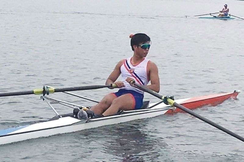 Rower Nievarez out of Olympic medal contention