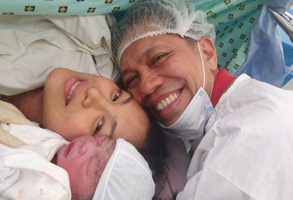 Miriam Quaimbao gives birth to second child at 45