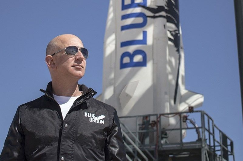 Earth's richest man Bezos to blast off into space