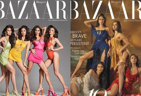 From Earth to Universe: Pinay queens reign on Harper's Bazaar Vietnam cover