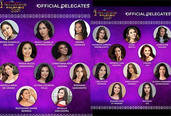 LIST: Miss Universe Philippines 2021Top 100 delegates, what's next?