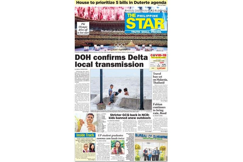 The STAR Cover (July 24, 2021)
