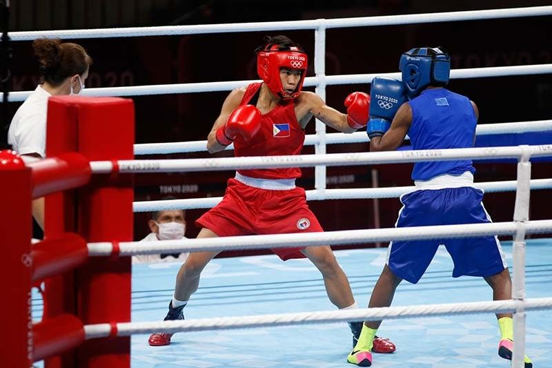 Magno puts on a boxing clinic, outclasses Kenyan foe in Olympic debut