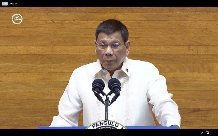 At final SONA, Duterte again claims waging war vs China only way to defend West Philippine Sea